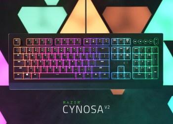 Razer Cynosa V2 คีย์บอร์ดเกมมิ่ง โดดเด่นไม่ซ้ำใครกับการปรับ RGB Lighting ในสไตล์ที่เป็นคุณ มาพร้อมปุ่มควบคุมมัลติมีเดีย