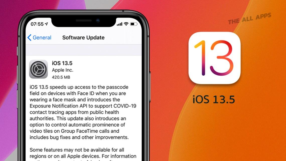 iOS 13.5 เปิดให้อัพเดทแล้ว เพิ่มความเร็วให้เข้าถึง Passcode เพื่อปลดล็อคได้เร็วขึ้นในขณะสวมหน้ากาก