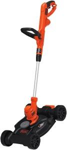 black and decker trim mower