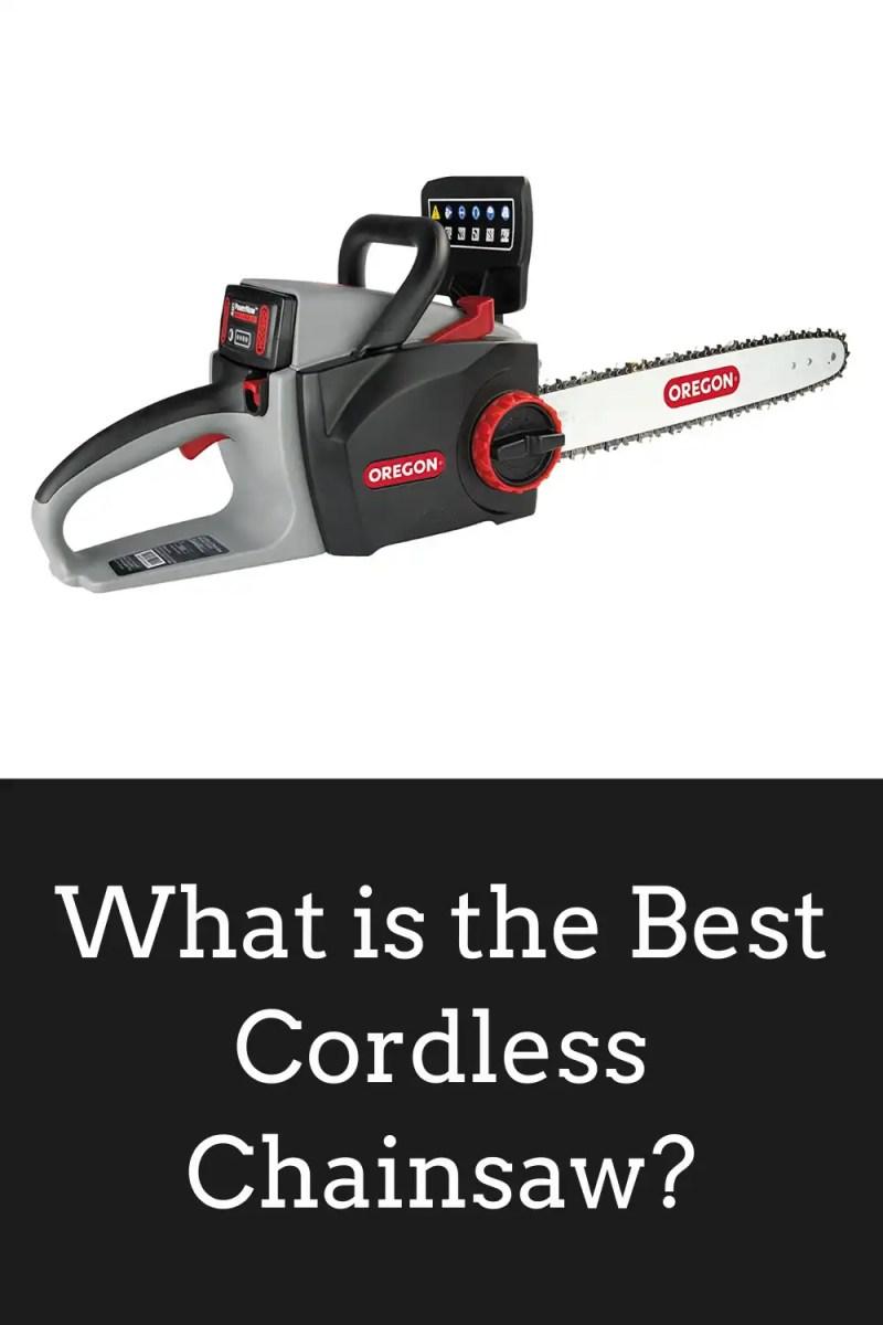 Best Cordless Chainsaw