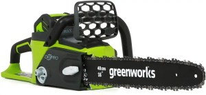 greenworks 40v 16inch cordless chainsaw