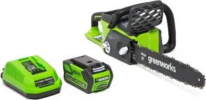 greenworks 16inch 40v cordless chainsaw