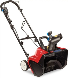 toro corded electric 18inch snow blower