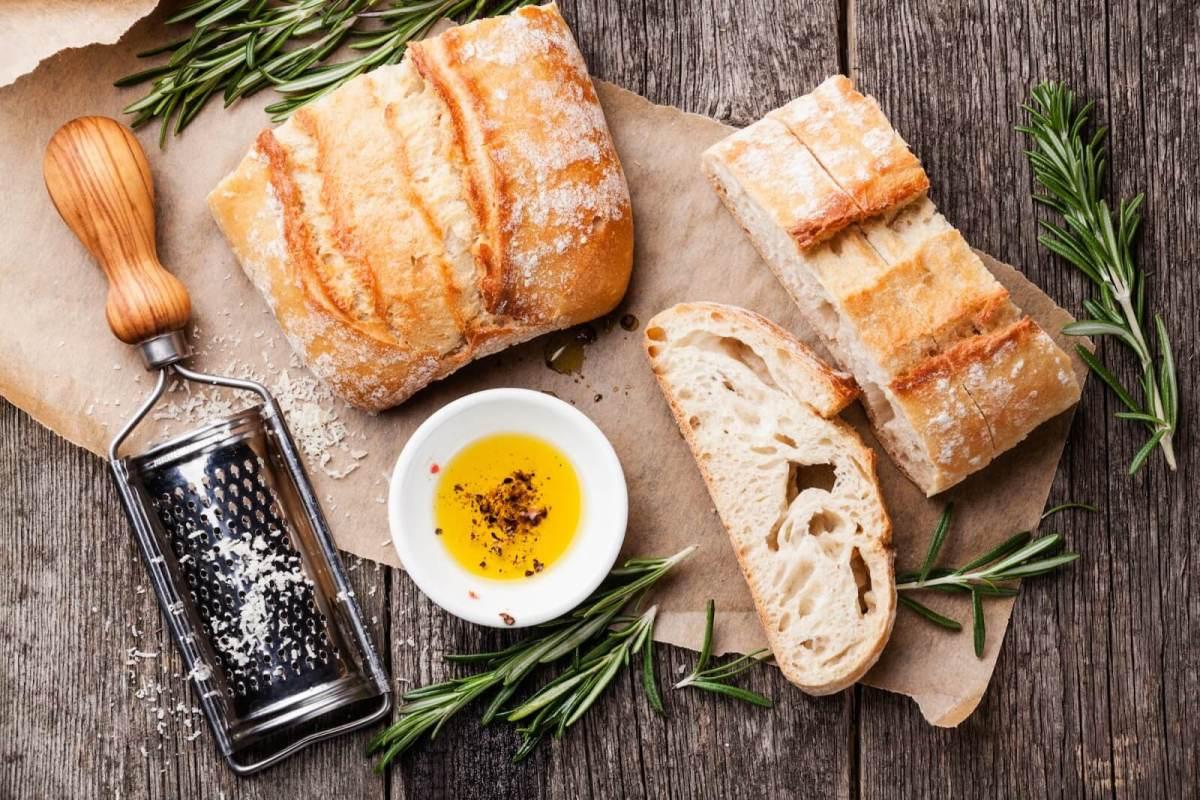Ciabatta Bread and Oil