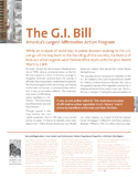 The G.I. Bill: America's Largest Affirmative Action Program