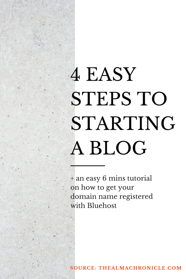 How To Start A Blog | The Alma Chronicle