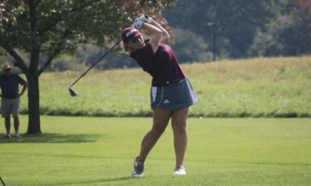 Women's golf wins at home