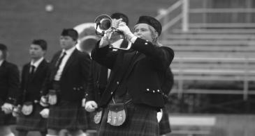 Kiltie Marching Band hosts the Kiltie Invitational