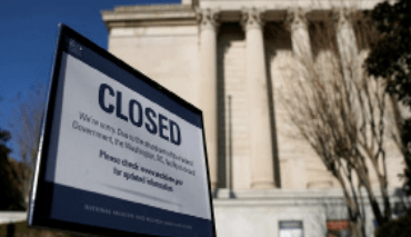 Government shutdown ends