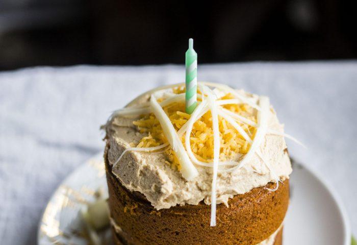 Mini Dog Birthday Cake The Almond Eater