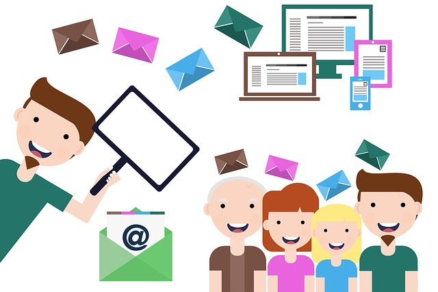 How can I find new donors using email?