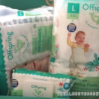 Wearing Offspring Natural diapers in Style