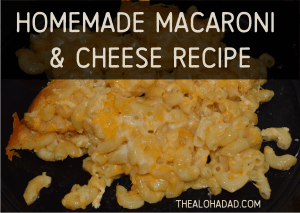 Homemade Macaroni & Cheese Recipe