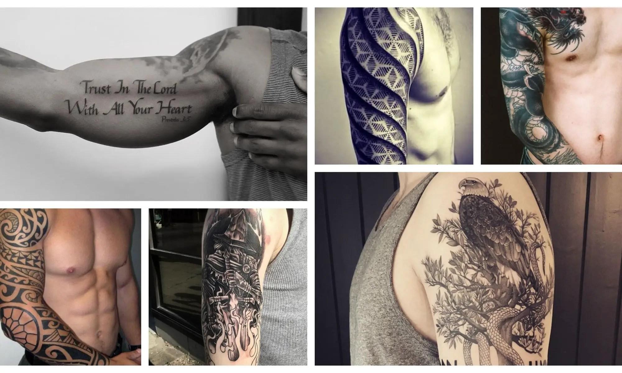 Men's Sleeve Tattoos