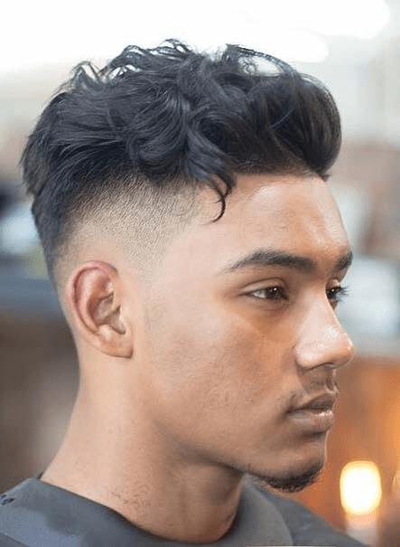 Drop Fade with Elephant Trunk