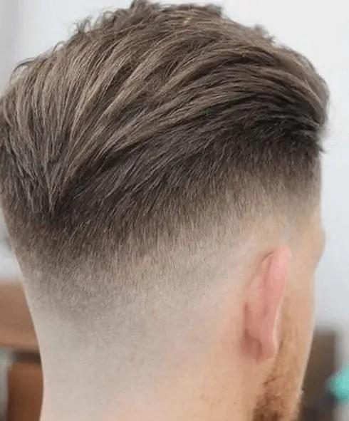 The V-slick back haircut