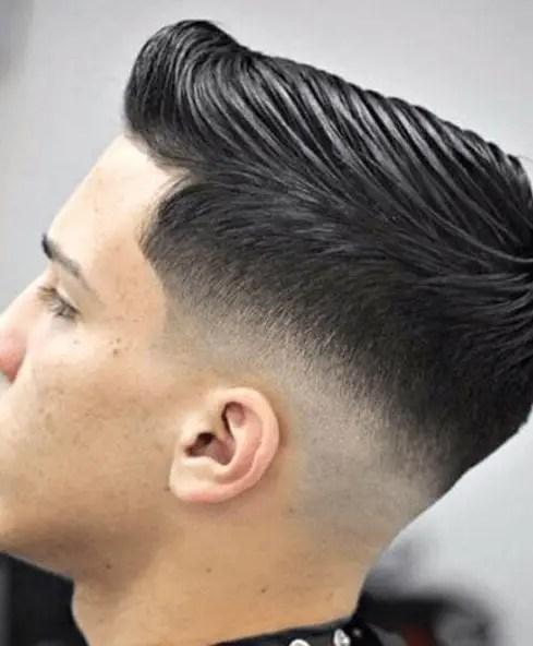 Retro Inspired Low Fade Haircut