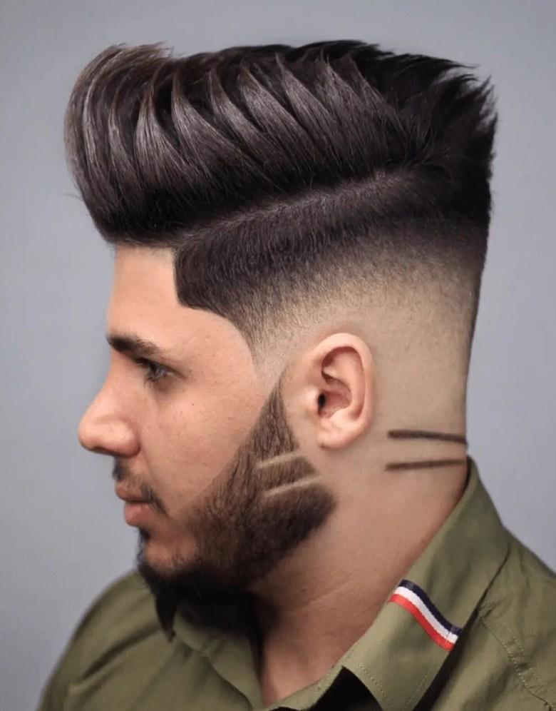 Low drop cut with a part