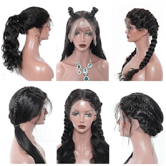 Different wig styles