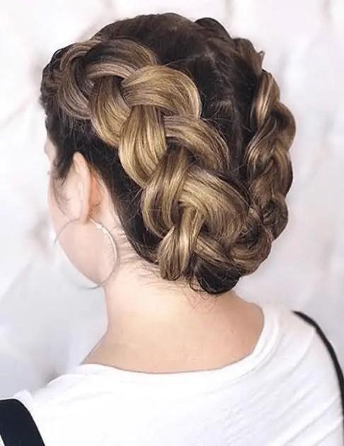 Dutch Tiara Hairstyle
