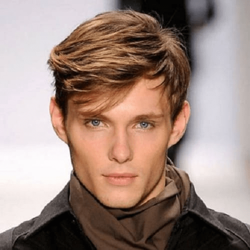 Side- fringes Hairstyle