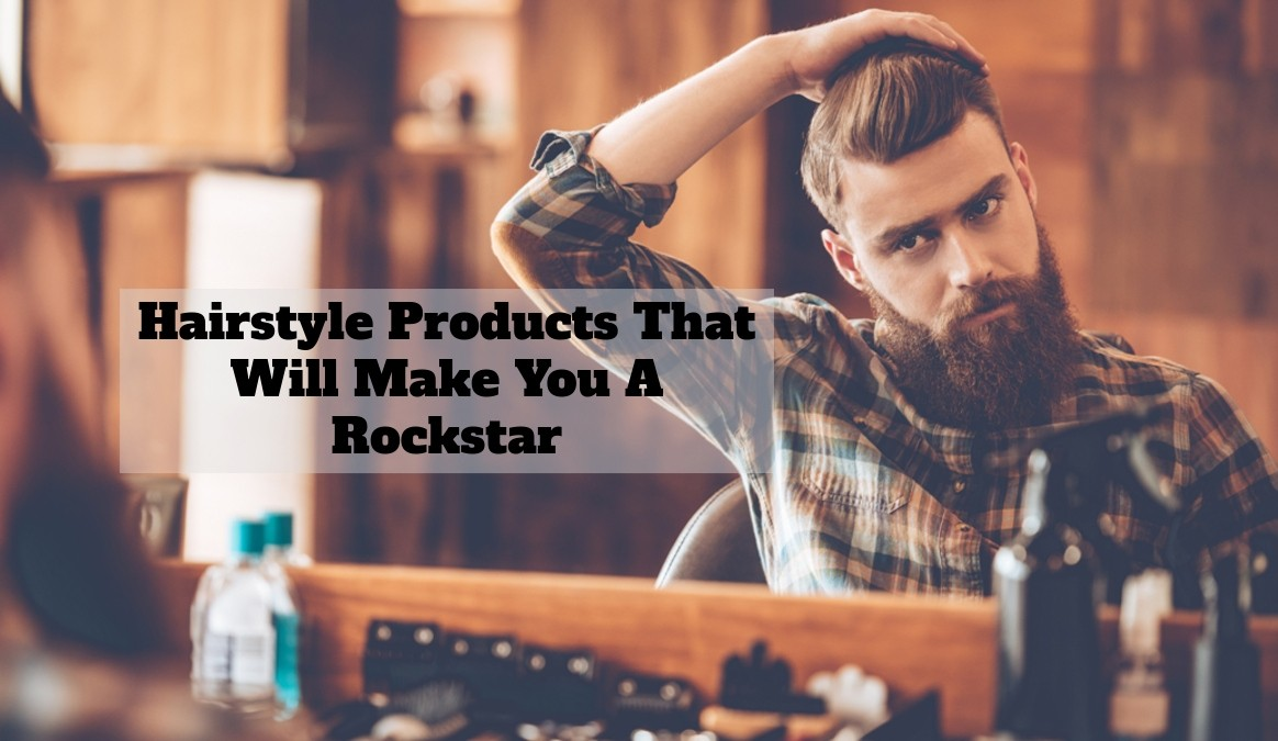 Hairstyle Products For Men