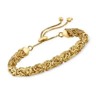 925 Italian Gold Bracelet