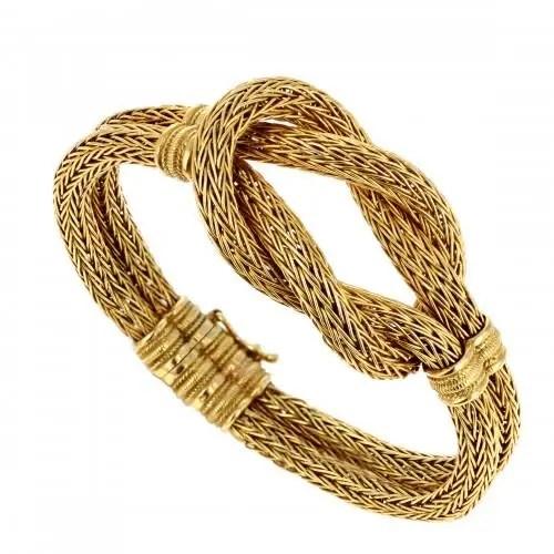 Gold Knot Bracelets