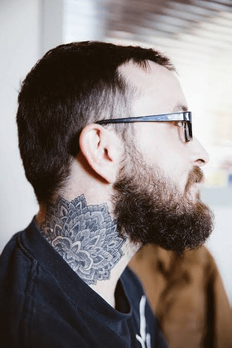 Mandala Masculine Tattoo