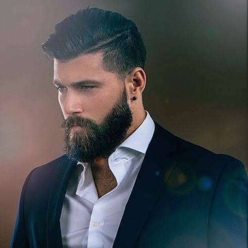 Man With Full Beard