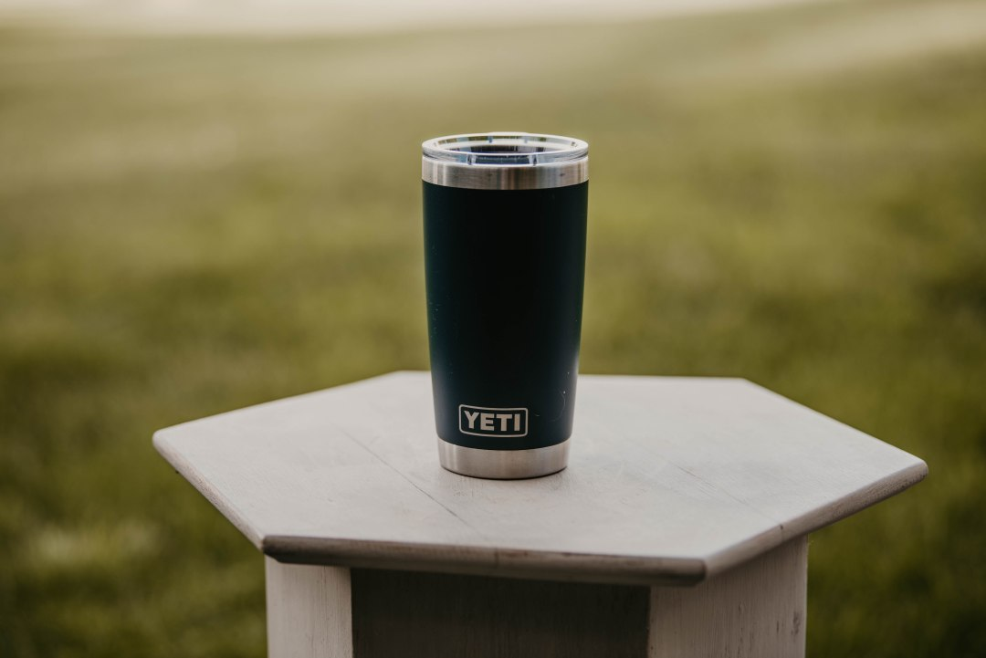 A coffee mug is one of the many great gift ideas for outdoor enthusiasts.