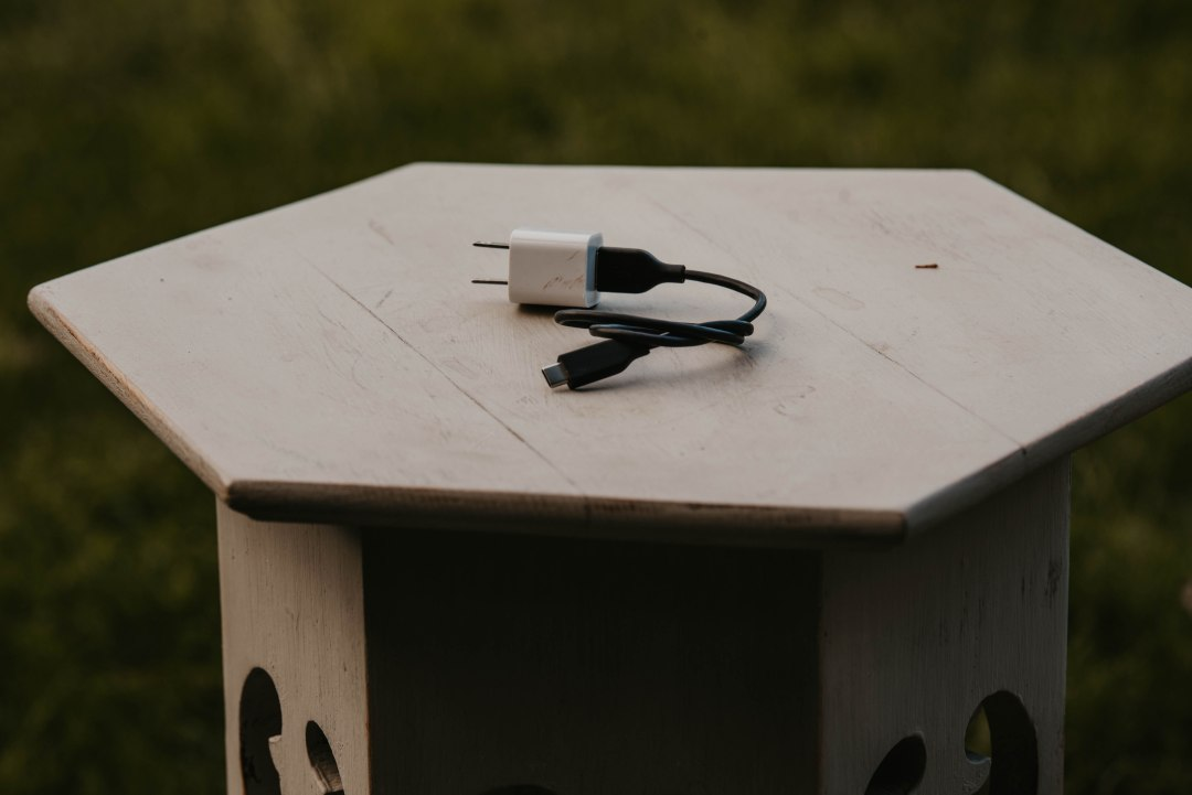 A travel charger is one of the many great gift ideas for outdoor enthusiasts.