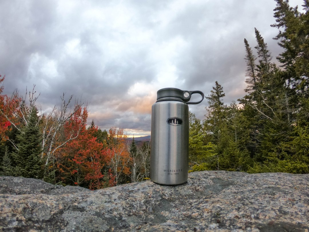 The importance of hydration for training and hiking.