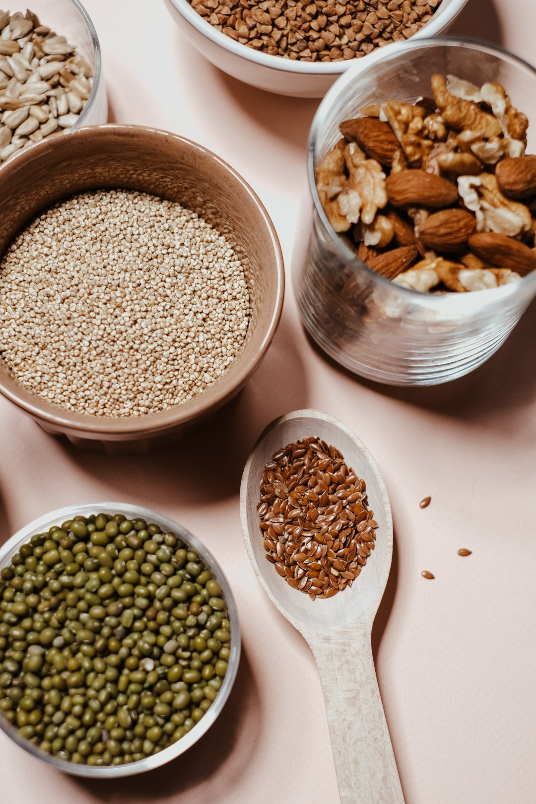 Grains are filled with iron and is an essential vitamin and mineral to your health.