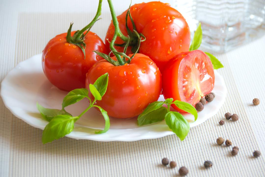 Tomatoes. Vitamins and minerals for health.