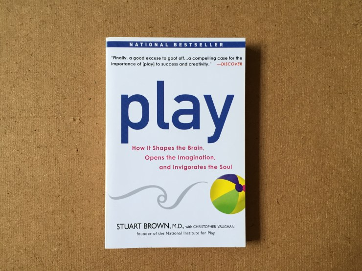 Photo of book Play by Stuart Brown M.D. with Christopher Vaughan