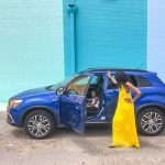 driveshop, mitsubishi outlander sport, sugar and cloth color wall houston, dallas blogger, road trip