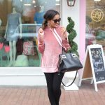 my mommy style, mommy style, fashion ideas for mommy, stylish mommy, casual outfit idea, how to wear velvet, velvet hoodie, polka dot leggings, shein, dallas blogger, black fashion blogger