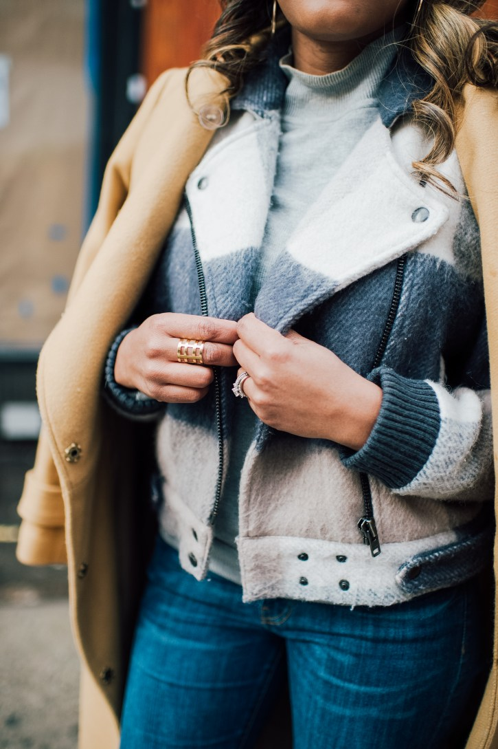 travel hack, Rent the Runway, NYFW STREET STYLE,  wedge over the knee boot, winter outfit inspo, winter coat outfit, dallas blogger, black fashion blogger