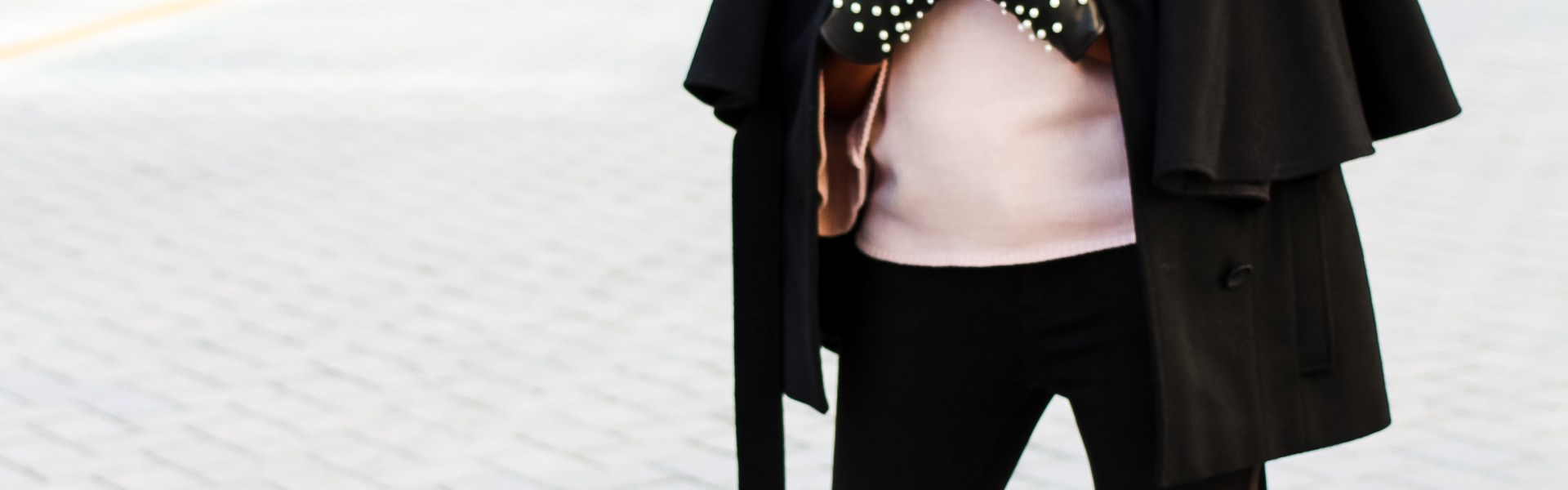 Postmark, zara, floral ankle booties, pearl leather gloves, maternity fashion, pregnancy fashion, maternity style, bump style, shein, pink ruffle sleeve sweater, zara pearl leather gloves, dallas blogger, black fashion blogger