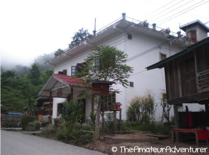 Our guesthouse in Pak Beng