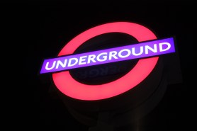 Lighting the way to the London Underground!