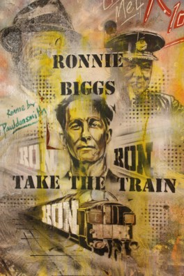 Ronnie Biggs... train robber