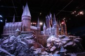 This is the model of Hogwarts castle used for filming in the Harry Potter films!