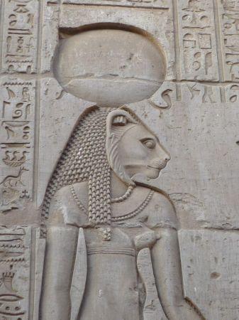 lion-headed Sekhmet