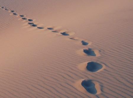 footprints-left