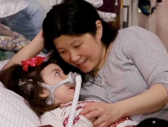 Michelle Moon and her daughter Julianna Snow.