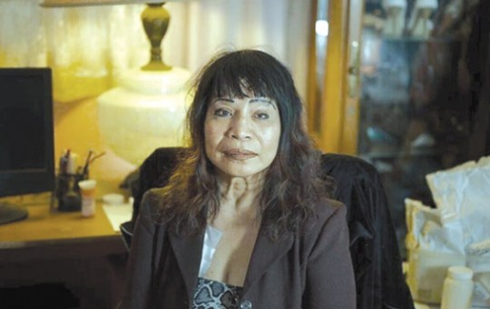 """Nelly Gutierrez, 63, is among those featured in the exhibit and book """"Right, before I die."""" The Sylmar resident is living with several serious illnesses."""