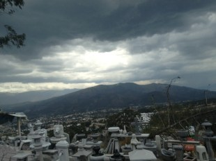 View over Quito