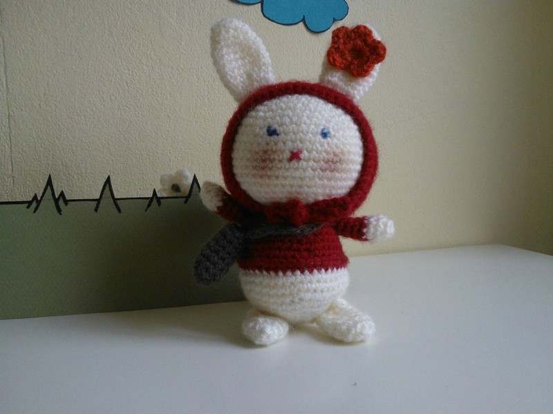 Tutoriel Lapin de printemps 🌸🐰 - Cat's Créa Crochet | 599x800